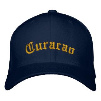 Curaçao Bestickte Mütze