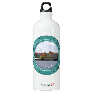 Curaçao-Öffnung Aluminiumwasserflasche