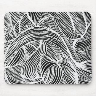 curly lines mauspad