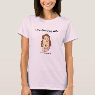 CurmudgeonGear Lang-Leidender Ehefrau-T - Shirt
