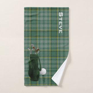 Currie kariertes Golf-Tuch Handtuch