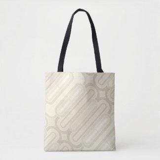 Curvy Pastelllinien Vintages Muster Tasche