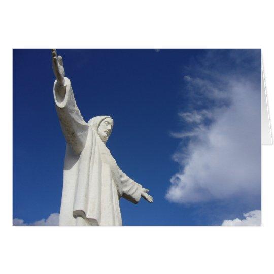 cusco Statue Karte