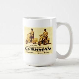 Cushman Schrittmacher und Superadlerroller Kaffeetasse