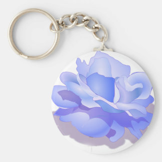 Custom Blue Rose Flower, Blue Rose Gifts Porte-clefs