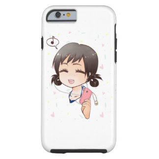 Cute and fun chibi iPhone case