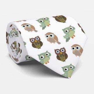 Cute owls krawatten