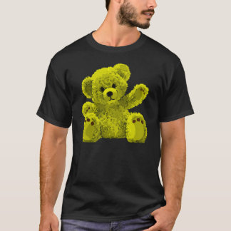 Cute Teddy Bear, Teddybär, yellow T-Shirt