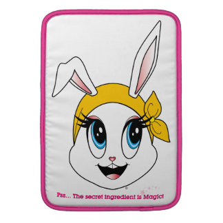 Cutesy Bunny™ Macbook Luft-Hülse MacBook Sleeve