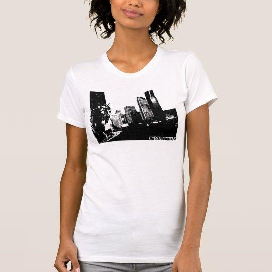 CYBERKITTENS: Gehoben in (Weiß) T-Shirt