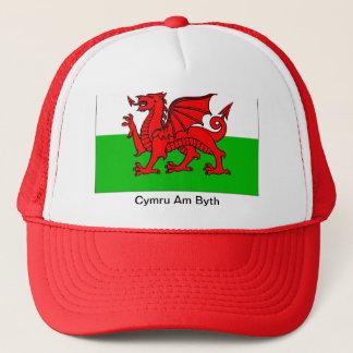 Cymru morgens Byth Hut Truckerkappe