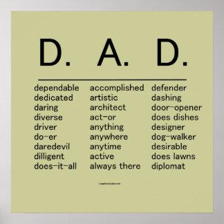 D.A.D. Der Vatertag Posterdrucke