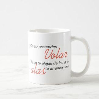 Da du… zerteilt behauptest, zu fliegen kaffeetasse