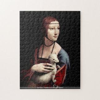 Da Vinci - Porträt einer Dame mit Ermine