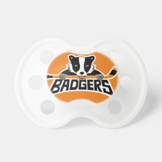 Dachs-Hockey-Logo Schnuller
