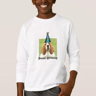 """Dachshund-Jagdhund-""""alles- Gute zum Geburtstag"""" T T-Shirt"""