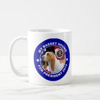 Dachshund-Jagdhund für Präsidenten Tasse 2012