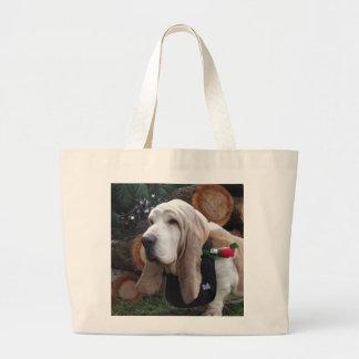 Dachshundjagdhund-Tasche Jumbo Stoffbeutel