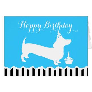 Dackel-Geburtstag Grußkarte