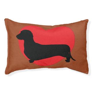 Dackel-Liebe-Hundebett Haustierbett