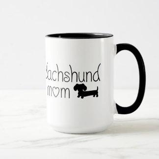 Dackel-Mamma-Tasse für Dackel-Hundeliebhaber Tasse