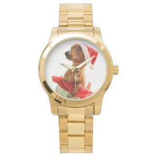 Dackel Sankt - Sankt-Hund - verfolgen Geschenke Armbanduhr