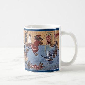 Dackel-Vintage Tasse