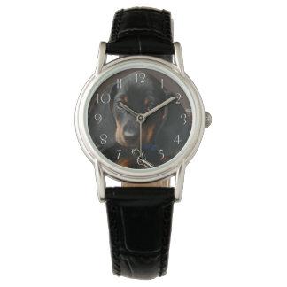 Dackelwelpe Armbanduhr