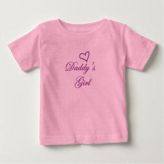 Daddys Mädchen Baby T-shirt