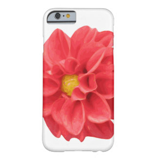 Dahlie-Blume Iphone 6/6s Grafikkasten Barely There iPhone 6 Hülle