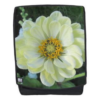 Dahlie-hellgelbe Blume Rucksack
