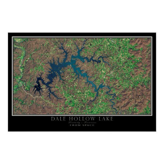 Dale hohler See Kentucky - Tennessee-Satelitte Poster
