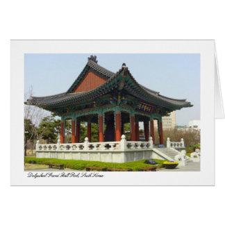 Dalgubeol großartiger Bell Park, Daegu, Südkorea Karte