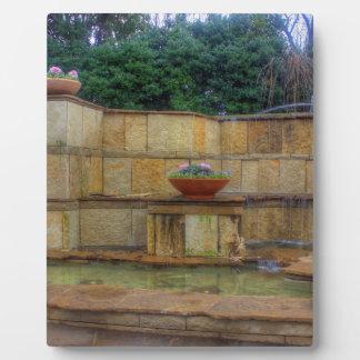 Dallas-Arboretum und botanische Garten-Eingang Fotoplatte