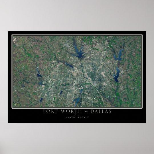 Dallas Fort Worth Texas von der Poster