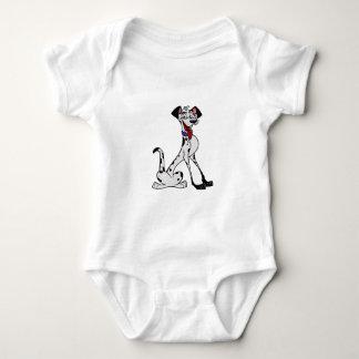 Dalmatiner Baby Strampler