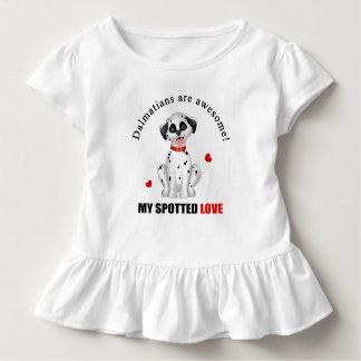 Dalmatiner sind fantastisch kleinkind t-shirt