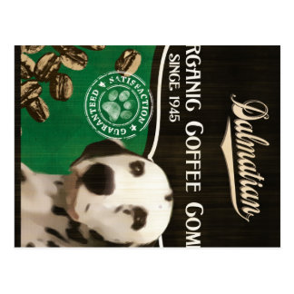 Dalmatinische Marke - Organic Coffee Company Postkarte