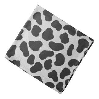 Dalmatinischer Schwarzweiss-Druck Halstuch