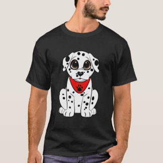 Dalmatinischer Welpe mit der Herz-Förmigen Nase T-Shirt