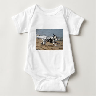 Dalmation Baby Strampler