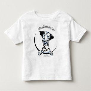 Dalmation, das ganz ungefähr ich IAAM sein ist Kleinkind T-shirt
