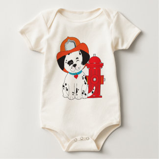 Dalmation Feuer-Hund Baby Strampler