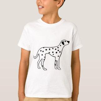 Dalmation Hund T-Shirt