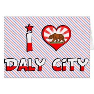 Daly City, CA Karte