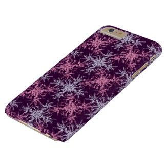 Damassé pourpre pourpre et poussiéreuse de Barossa Coque iPhone 6 Plus Barely There
