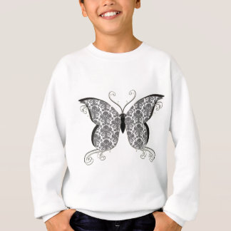 Damast-Schmetterling Sweatshirt
