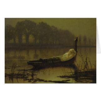 Dame Atkinson-Grimshaw von Shalott CC0536 Karte