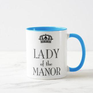Dame der Manor-Tasse Tasse