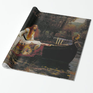 Dame der Schalotte durch John William Waterhouse Geschenkpapier